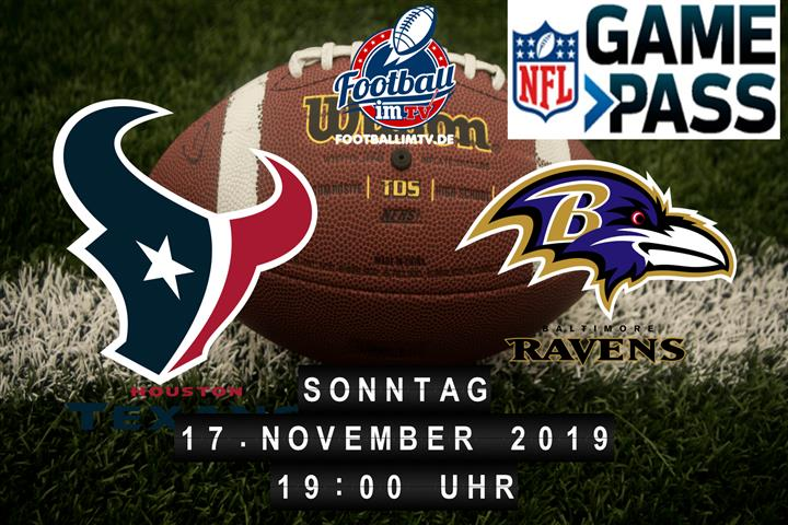 Houston Texans @ Baltimore Ravens