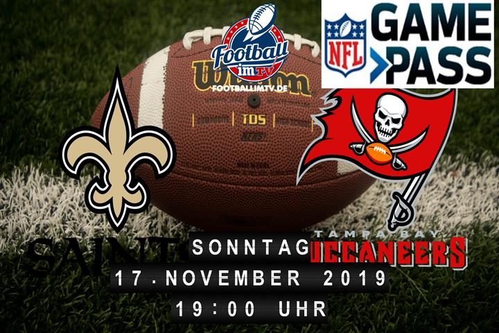 New Orleans Saints @ Tampa Bay Buccaneers