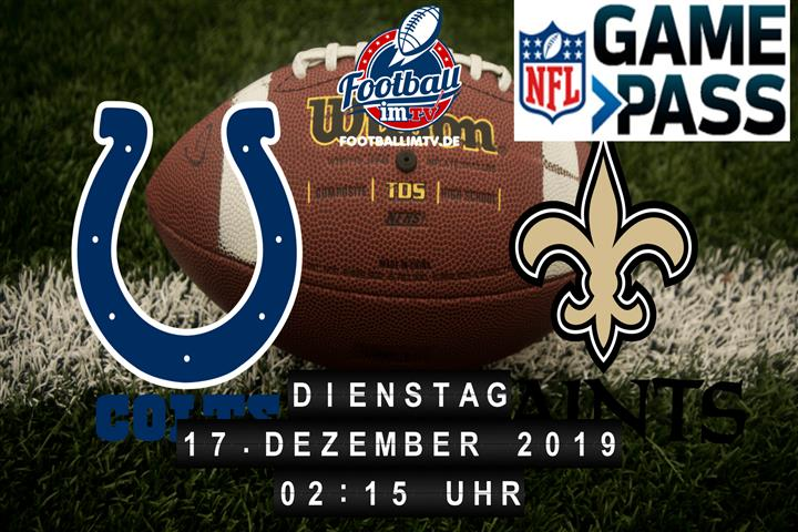 Indianapolis Colts @ New Orleans Saints