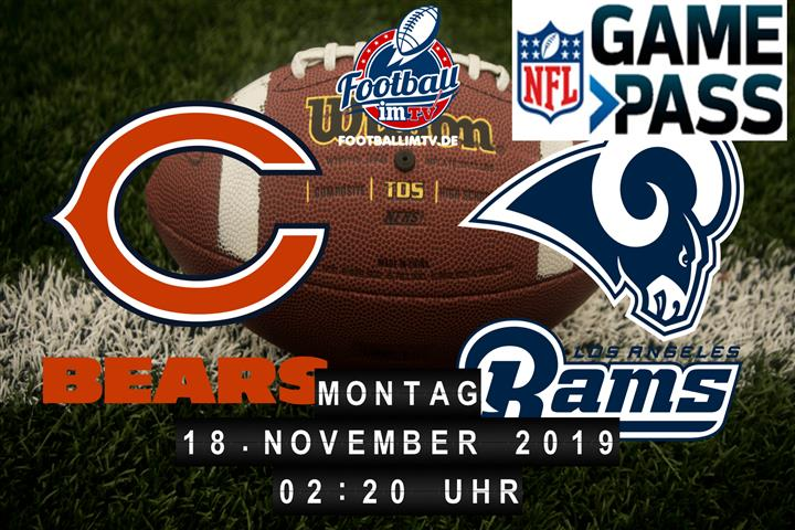 Chicago Bears @ Los Angeles Rams