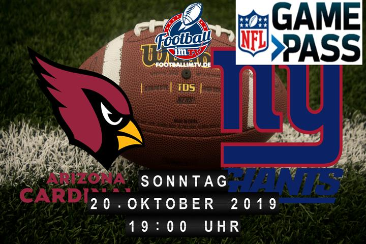 Arizona Cardinals @ New York Giants