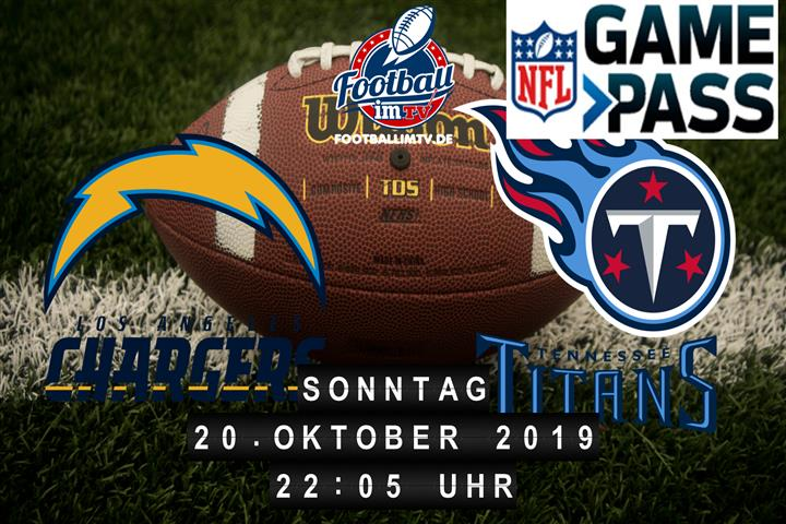 Los Angeles Chargers @ Tennessee Titans