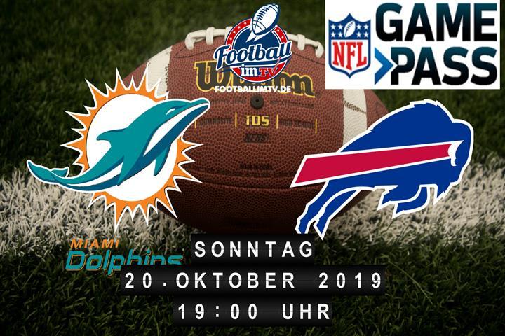 Miami Dolphins @ Buffalo Bills