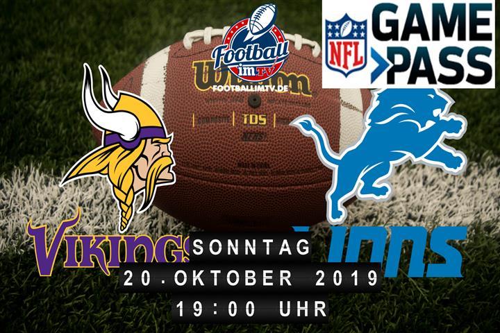 Minnesota Vikings @ Detroit Lions