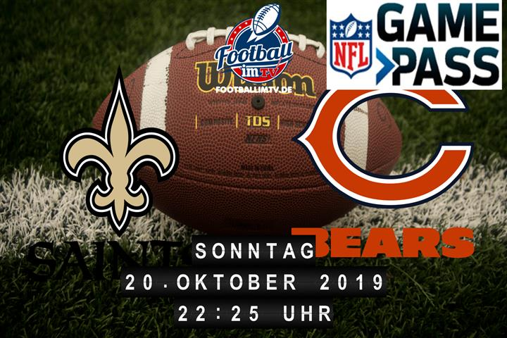 New Orleans Saints @ Chicago Bears