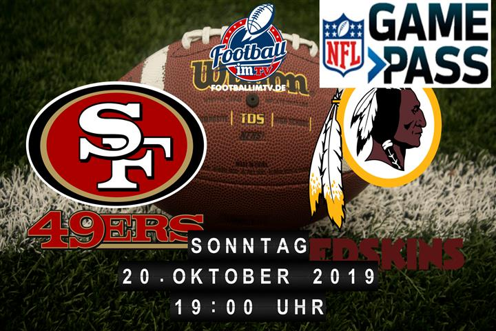 San Francisco 49ers @ Washington Redskins