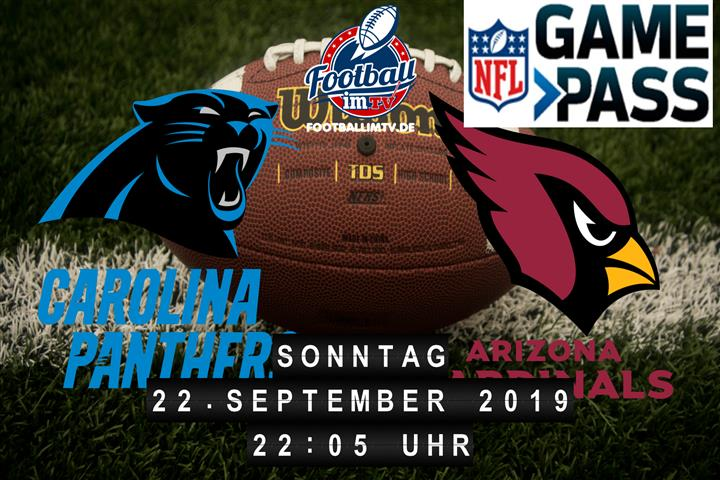 Carolina Panthers @ Arizona Cardinals