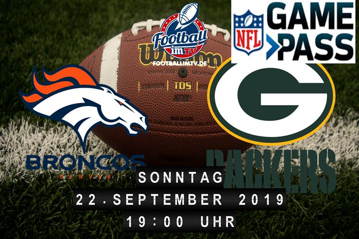 Denver Broncos @ Green Bay Packers
