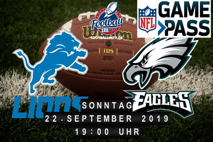 Detroit Lions @ Philadelphia Eagles