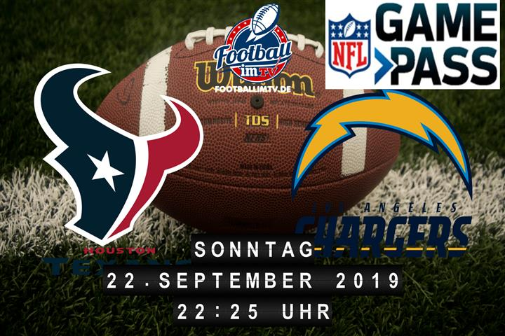 Houston Texans @ Los Angeles Chargers