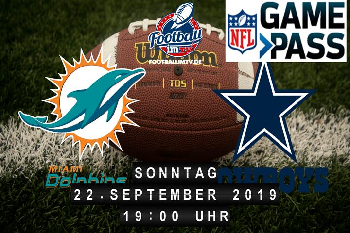 Miami Dolphins @ Dallas Cowboys