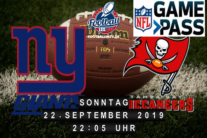 New York Giants @ Tampa Bay Buccaneers