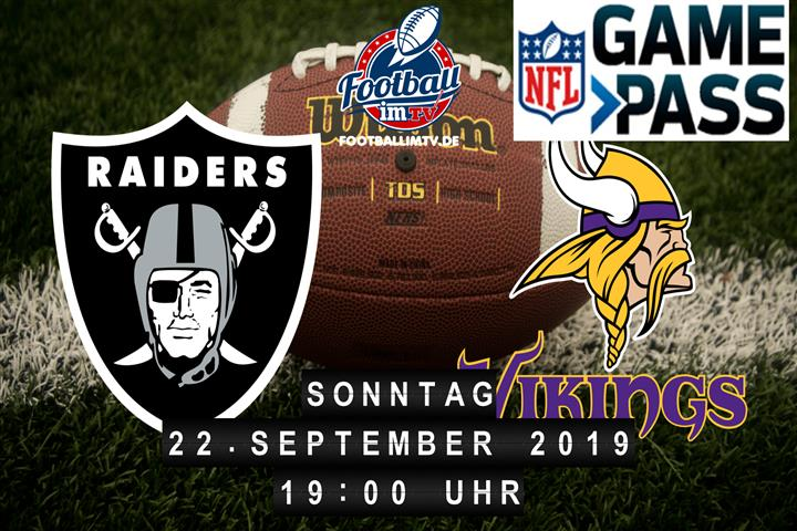 Oakland Raiders @ Minnesota Vikings