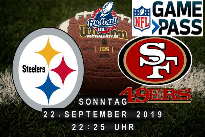 Pittsburgh Steelers @ San Francisco 49ers
