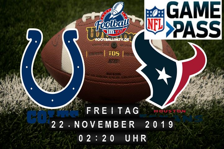 Indianapolis Colts @ Houston Texans