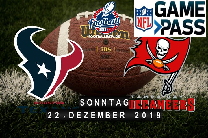 Houston Texans @ Tampa Bay Buccaneers