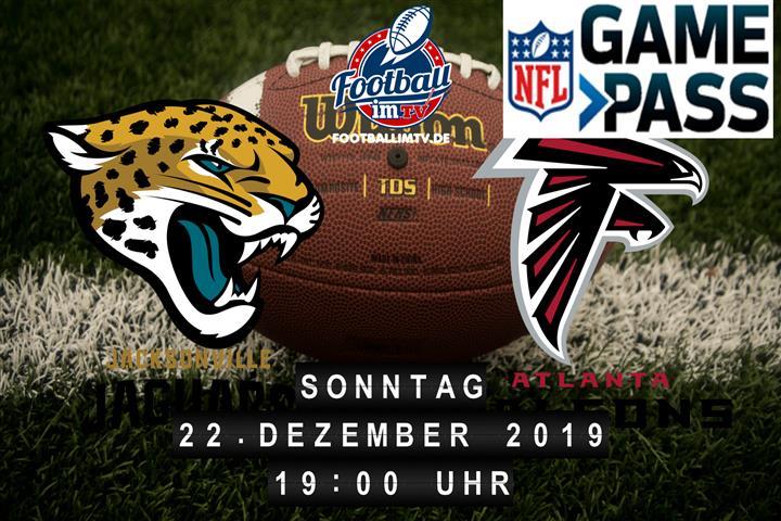 Jacksonville Jaguars @ Atlanta Falcons