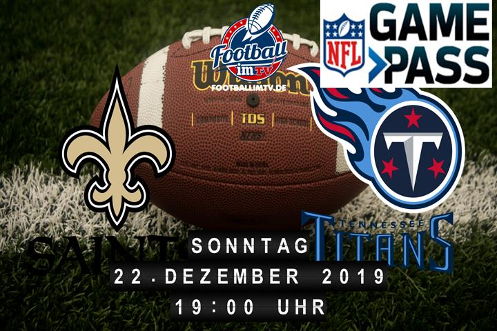 New Orleans Saints @ Tennessee Titans