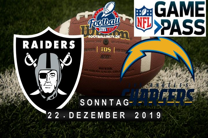 Oakland Raiders @ Los Angeles Chargers