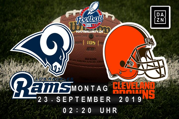 Los Angeles Rams @ Cleveland Browns