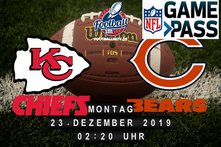 Kansas City Chiefs @ Chicago Bears