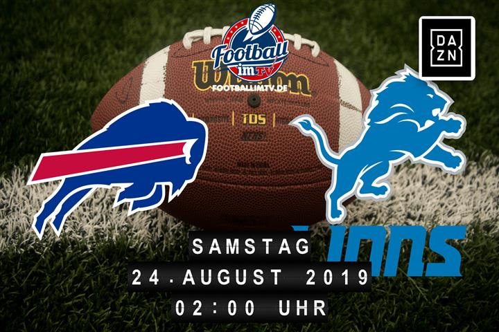Buffalo Bills @ Detroit Lions