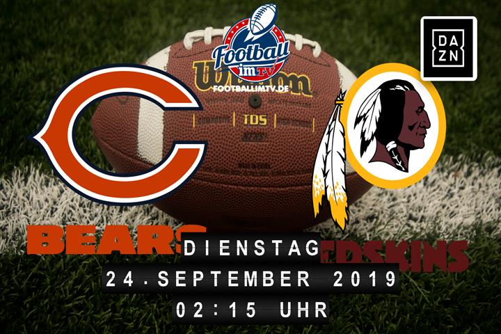 Chicago Bears @ Washington Redskins