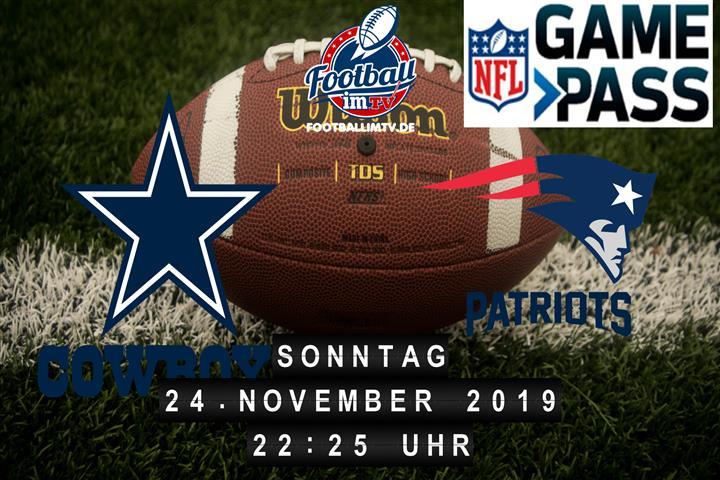 Dallas Cowboys @ New England Patriots