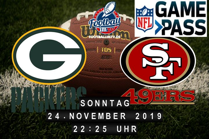 Green Bay Packers @ San Francisco 49ers