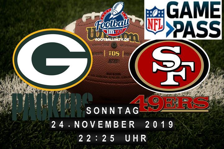 Green Bay Packers @ San Francisco 49ers