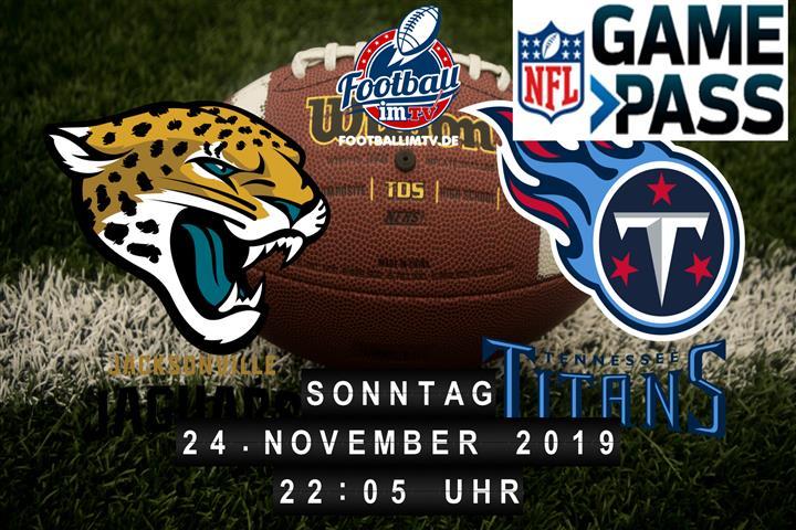Jacksonville Jaguars @ Tennessee Titans