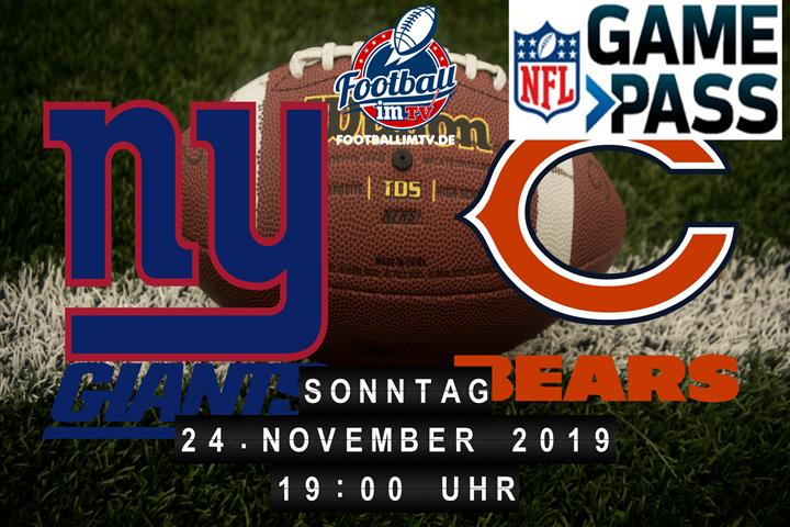 New York Giants @ Chicago Bears