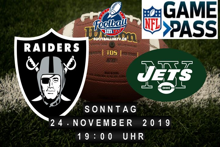 Oakland Raiders @ New York Jets