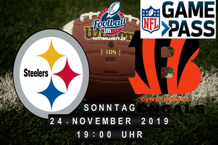 Pittsburgh Steelers @ Cincinnati Bengals