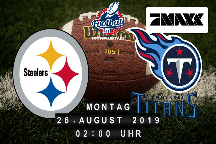 Pittsburgh Steelers @ Tennessee Titans