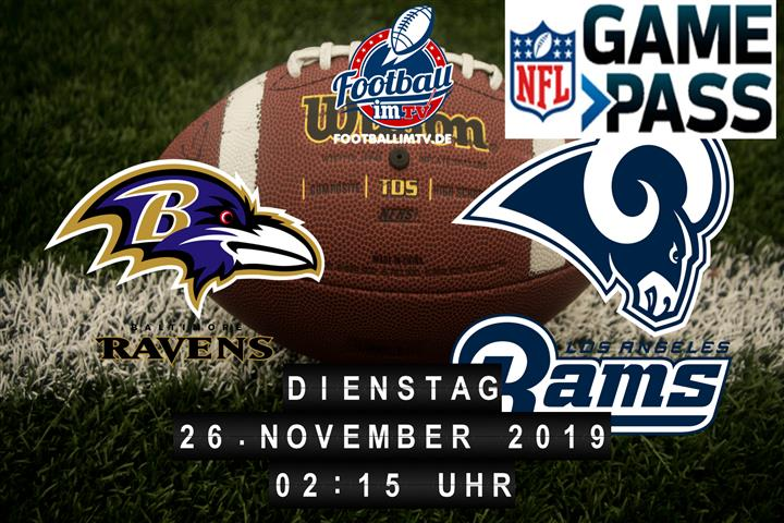 Baltimore Ravens @ Los Angeles Rams