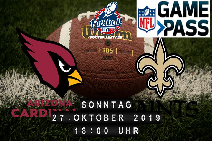 Arizona Cardinals @ New Orleans Saints