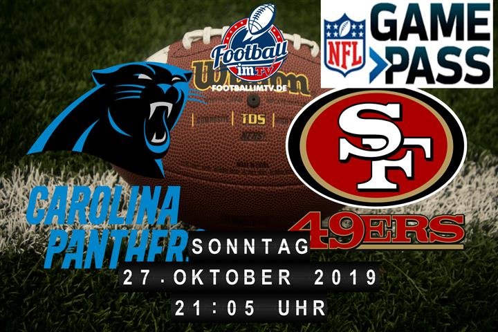 Carolina Panthers @ San Francisco 49ers