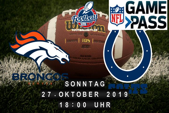 Denver Broncos @ Indianapolis Colts