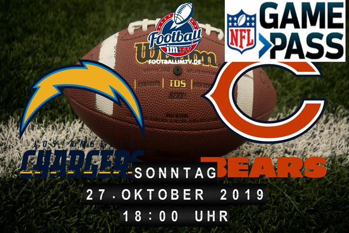 Los Angeles Chargers @ Chicago Bears
