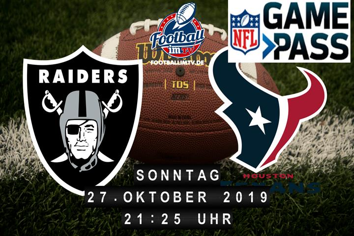 Oakland Raiders @ Houston Texans