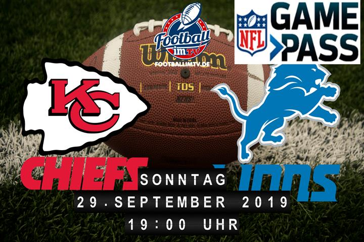 Kansas City Chiefs @ Detroit Lions