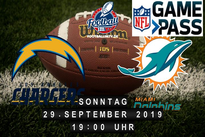 Los Angeles Chargers @ Miami Dolphins