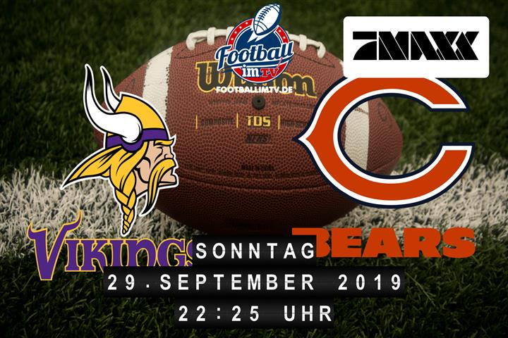 Minnesota Vikings @ Chicago Bears