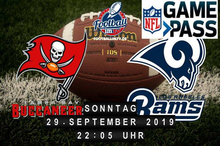 Tampa Bay Buccaneers @ Los Angeles Rams