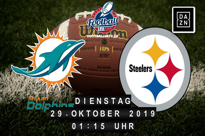 Miami Dolphins @ Pittsburgh Steelers