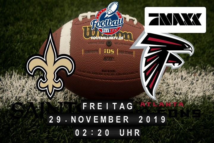 New Orleans Saints @ Atlanta Falcons