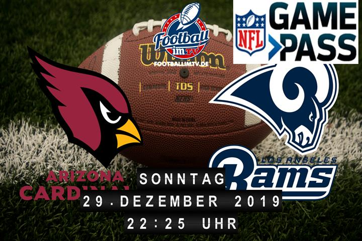 Arizona Cardinals @ Los Angeles Rams