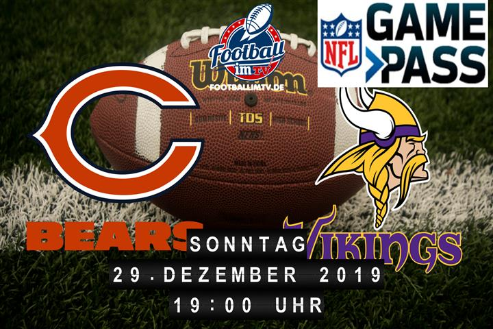 Chicago Bears @ Minnesota Vikings