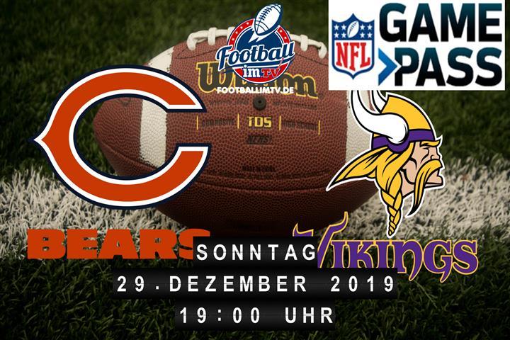 Chicago Bears @ Minnesota Vikings